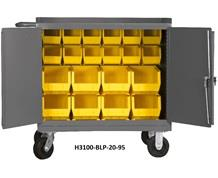 "36"" WIDE MOBILE BENCH CABINETS"