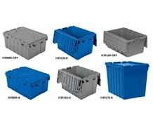 ATTACHED LID CONTAINERS