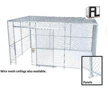 WOVEN WIRE MESH PARTITIONS